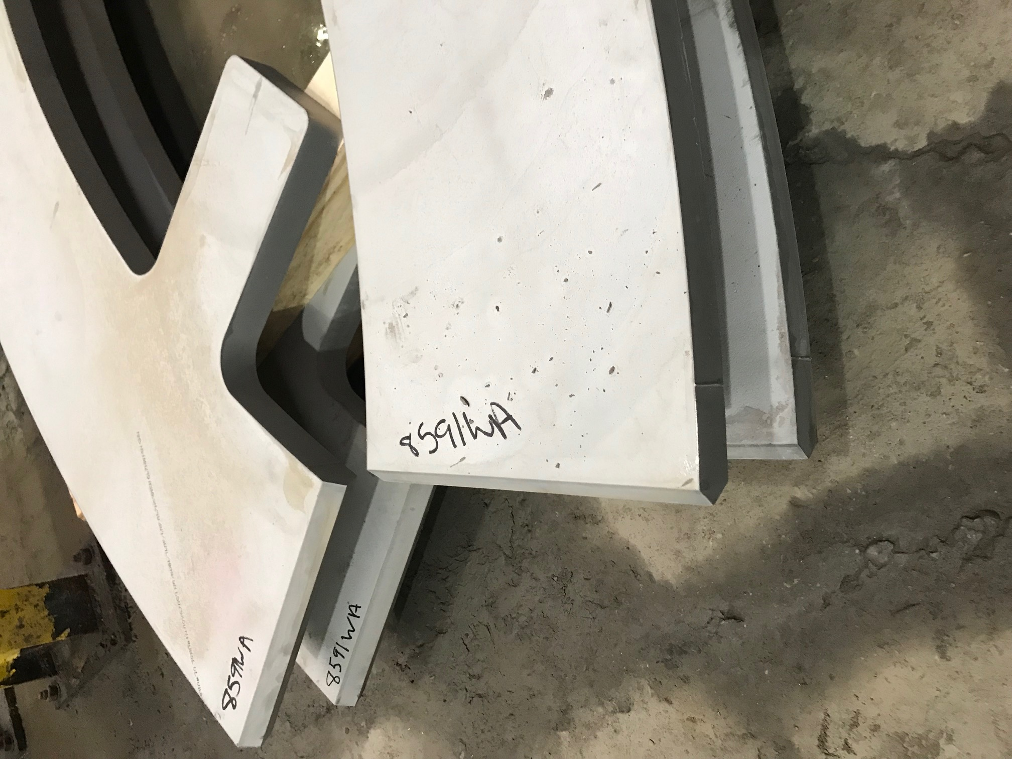 JACQUET Midwest - Heavy gauge bevel cut waterjet parts